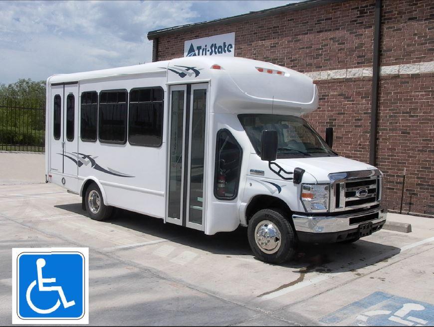 Chair Lift Rental Paratransit Bus Wheelchair Accessible Handicap Mobile ...